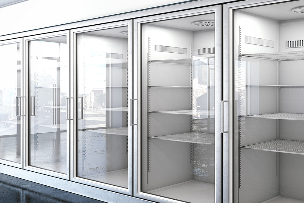 Kühlregale für den Supermarkt