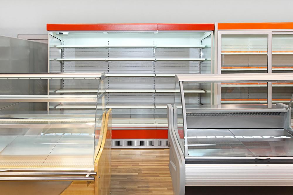 Kühlregale und Kühltheken für den Supermarkt