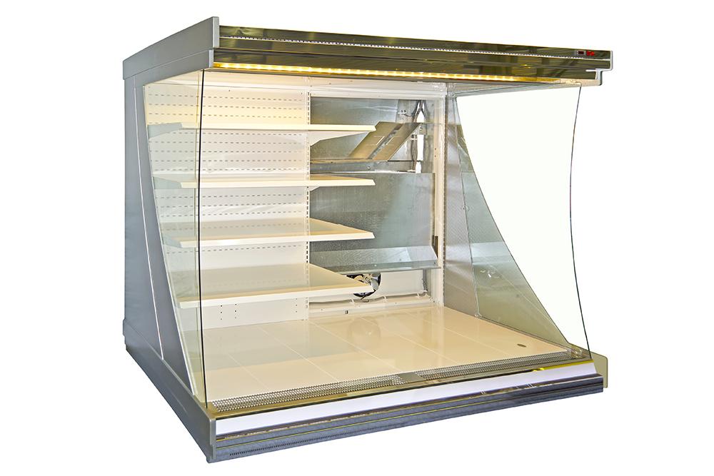 Kühlregal für den Supermarkt